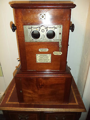 Ancien Stereoscope Taxiphote Richard Visionneuse Photos Plaques Verre  French