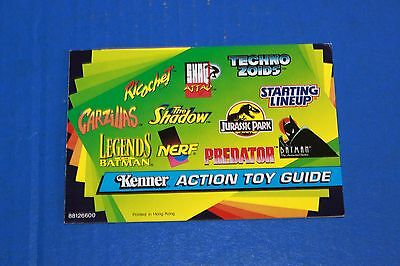 1994 Kenner Action Toy Guide Catalog Brochure