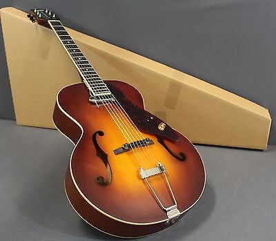 Gretsch G9555 New Yorker Grand Auditorium Acoustic/Electric Archtop Guitar