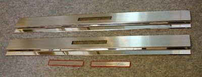 Chrom SILL COVERS EDELSTAHL Mercedes W124 COUPE CONVERTIBLE