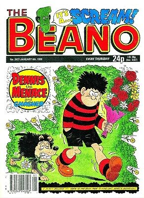 Uk Comics The Beano 260+ Humour Comics From 1990-1994 On Dvd