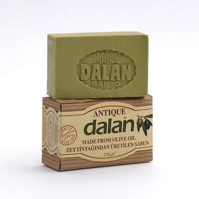 DALAN SOAP ANTIQUE made from OLIVE OIL EFFECTIVE AGAINST HAIRLOSS DANDDRUFF 170g