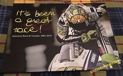 Libro book Valentino Rossi it's been great race no minichamps introvabile