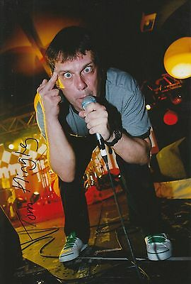 Tom Hingley Hand Signed 12x8 Photo Inspiral Carpets - This Is How It Feels 1.