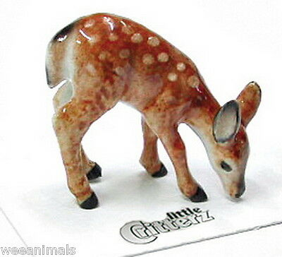 "Little Critterz LC107 ""Ophrah"" Deer Fawn Figurine Wee Animal Miniature"