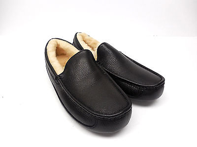UGG Australia Mens Ascot Slipper Moccasin Black 5379B