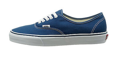 Vans Shoes Authentic Classic Canvas Sneakers VN000EE3NVY - Navy Blue/True White