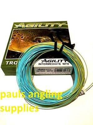 Shakespeare AGILITY WEIGHT FORWARD   Fly Fishing Line for Trout Reel  RRP £39.99