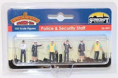 Bachmann Branchline OO 36-041 Figures Police & Security Staff FNQHobbys