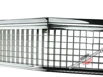 Holden HZ  + HJ HX Grille Full CHROME