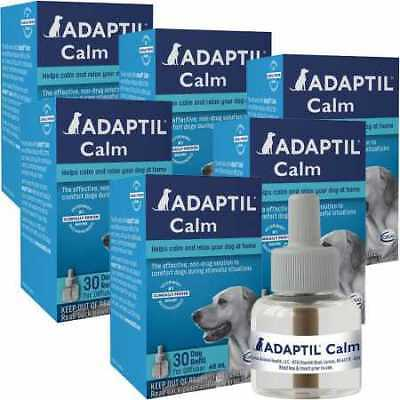 6 PACK ADAPTIL Calm Home Diffuser Refill for Dogs 288mL