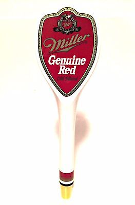 Miller Genuine Red Beer Tap Bar Pub Handle 11 inches Long New
