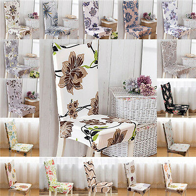 Stretch Spandex Chair Cover Seat Cover Dining Room Wedding Banquet Party Decor