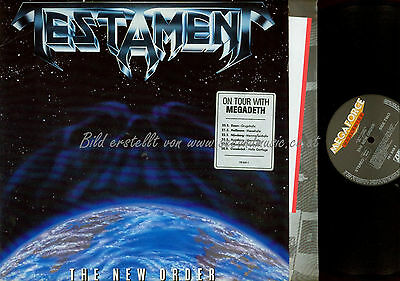 Lp--Testament The New Order / Ois // Product Facts // Nm Mega Force