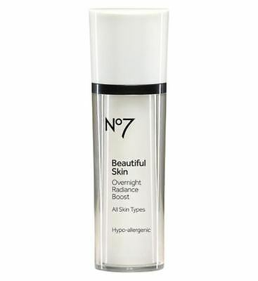 No7 Beautiful Skin Over Night Radiance Boost