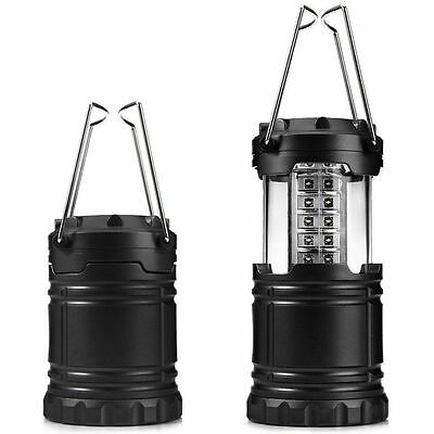 Ultra Bright Portable Collapsible 30 LEDs Camping Hiking Lantern Tent Light Lamp