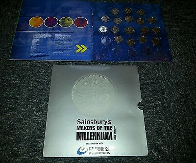 Makers of the millenium Coin Medal collection  Guinness world record sainsburys