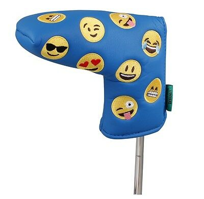 Winning Edge Emoticon/emoji Blade Putter Headcover