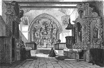 ECUADOR. Cathedral of Quito 1880 old antique vintage print picture
