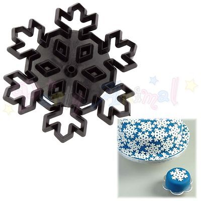 Sugarcraft Patchwork cutters- Christmas-Large Snowflake Cutter Xmas Frozen Cake