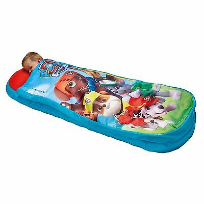 Paw Patrol Junior Ready Bed Kids Camping Trips Holiday Includes Pump Free P+P