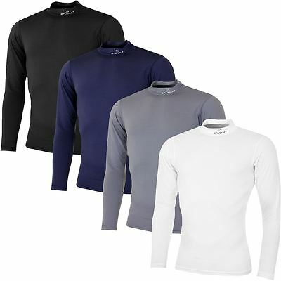 Stuburt Mens Urban Performance LS Compression Baselayer Golf Thermal Mock