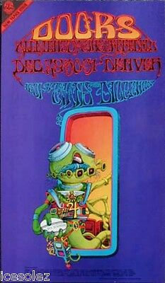 The Doors Rick Griffin  Fillmore Era Family Dog Poster 1967