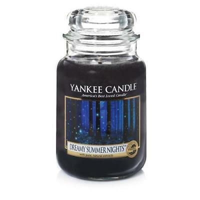 Yankee Candle Dreamy Summer Nights Large Jar FREE P&P