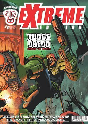 """2000AD ft JUDGE DREDD presents """"EXTREME"""" - COMPLETE COLLECTION - EXCELLENT COND"""