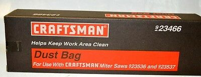 Craftsman #923466 Dust Bag-use with Miter Saws 923537 & 923537