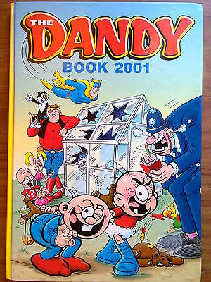 The Dandy Book, 2001, kids' annual. Unclipped