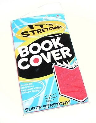 Academic Super Stretchy Stretchable Red Book Cover Factory Sealed Package Mip