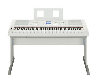 Yamaha DGX650 Digital Piano - White (DGX 650 WH/White)