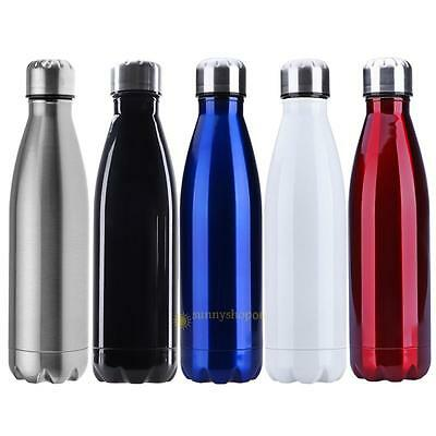 500ml Double Wall Vacuum Stainless Steel Travel Water Non Leakage Thermos Bottle