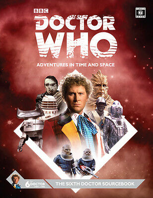 Doctor Who RPG: The Sixth Doctor Sourcebook (Hardcover) PSI CB71115