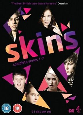 Skins: Complete Series 1-7 DVD Box Set NEW