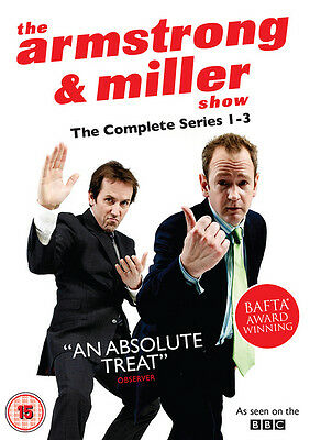 The Armstrong and Miller Show: Series 1-3 DVD Box Set NEW