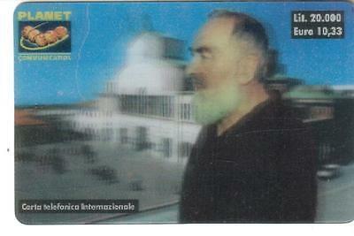 Nuova - Planet  Communication - Lire 20.000 - Padre Pio