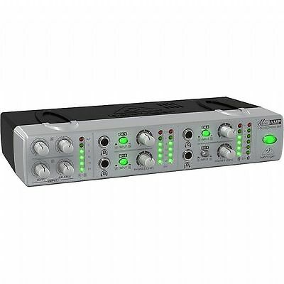 Behringer AMP800 Mini Amp Ultra Compact 4 Channel Stereo Headphone Amplifier