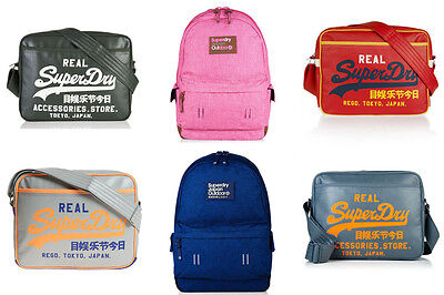 New Superdry Bags Selection - Various Styles & Colours