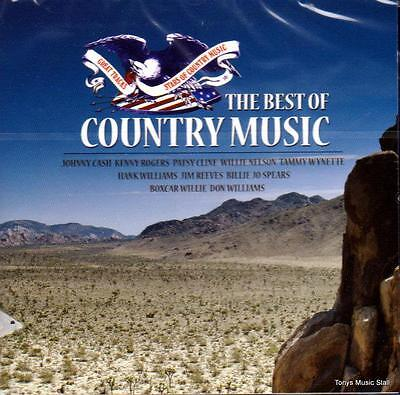 The Best Of Country Music - Various Artists (New Sealed Cd)