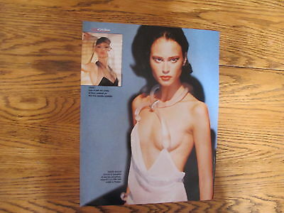 Thierry Mugler Sexy Dress  Print Ad Clipping 1998