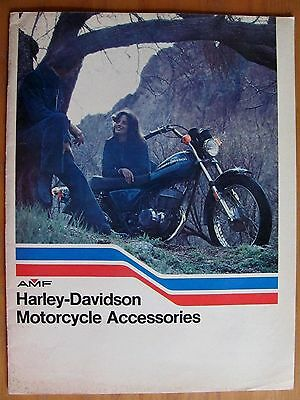 VINTAGE 1976 AMF HARLEY DAVIDSON MOTORCYCLE FASHIONS & Accessories Catalog 32 pg