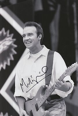 Midge Ure Hand Signed 12x8 Photo Band Aid.