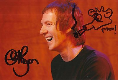 Clint Boon Hand Signed 12x8 Photo Inspiral Carpets 1.