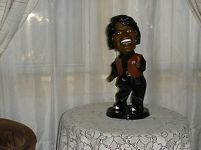 James Brown Singing Statue
