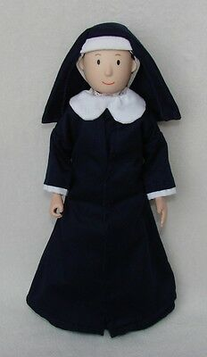 Madeline Doll Teacher Nun Miss Clavel Complete Outfit