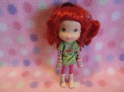 Strawberry Shortcake Doll W/ Pink Kitchen Toaster Accessory Cute! 3+ Girls 6 In