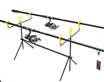 Lineaeffe Carp Fishing kit / Set  -rods ,reels ,pod  rod rests