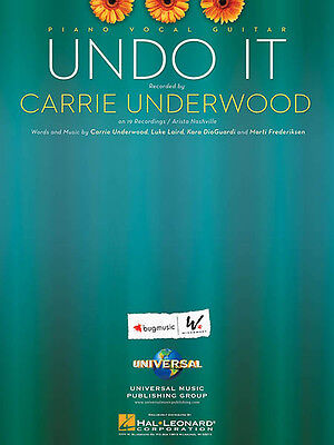 UNDO IT SONG by Carrie Underwood for Piano Sheet Music Guitar Chords ...
